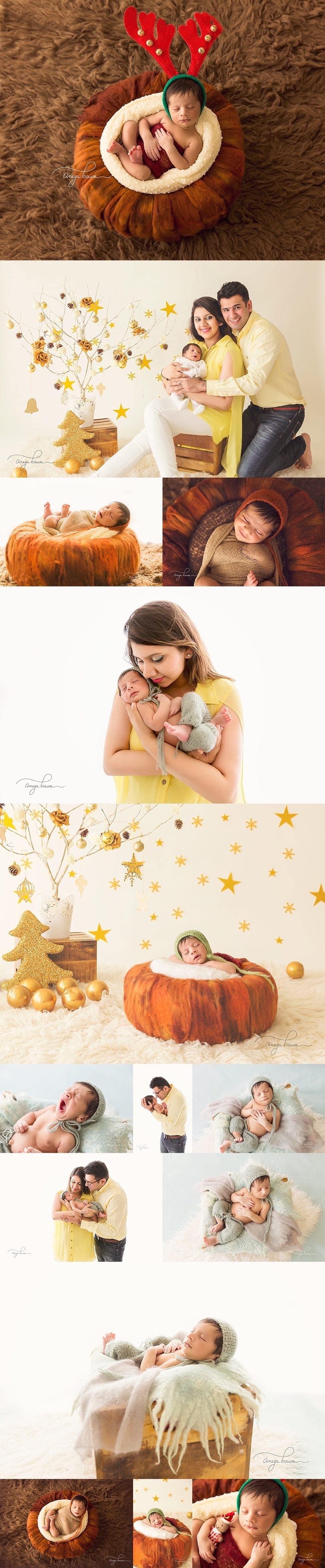 infant photoshoot in delhi - newborn photography