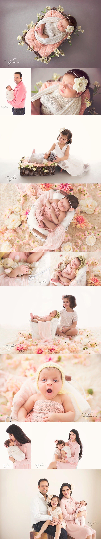 Infant Photoshoot India - Newborn Session - 40 days girl