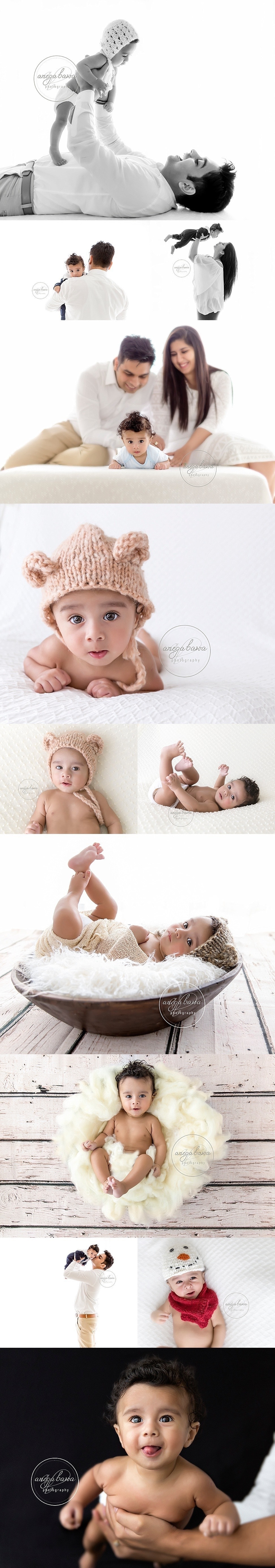 Baby Photographer in Delhi-Gurgaon-Noida - Session of 4 months boy