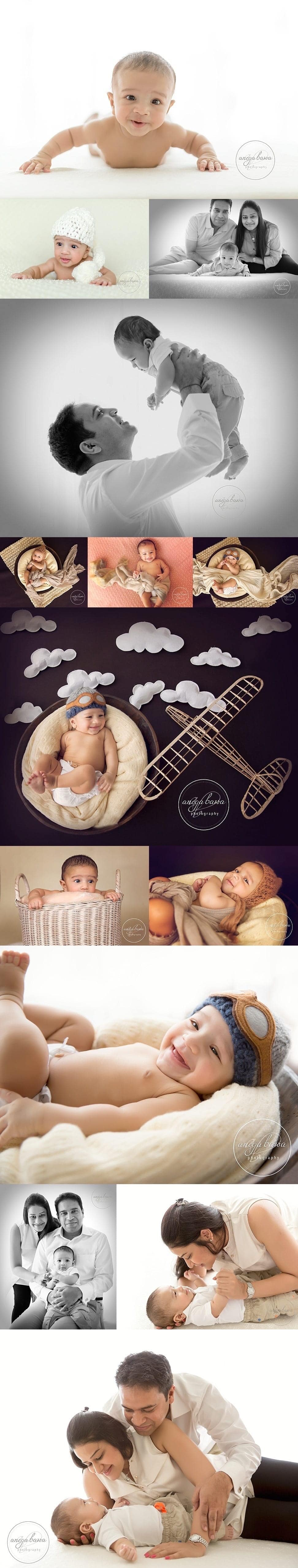 delhi baby photography - session - 4 months boy