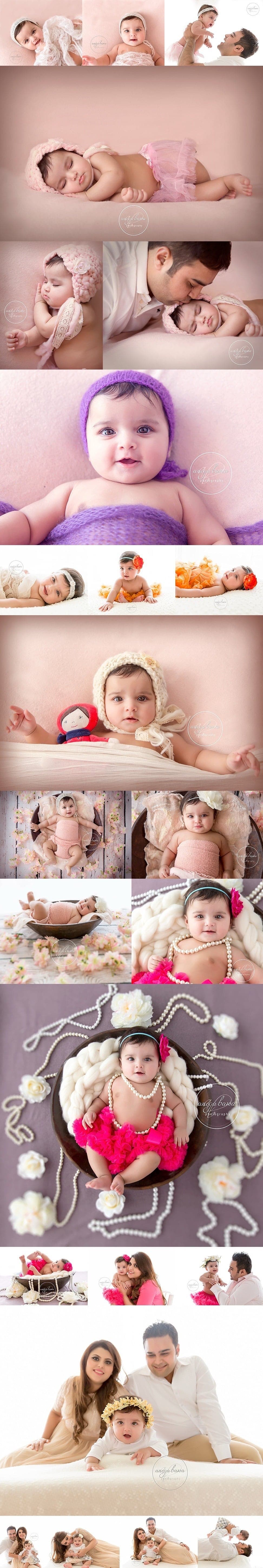 Delhi Baby Photographer - Session of 4 month girl