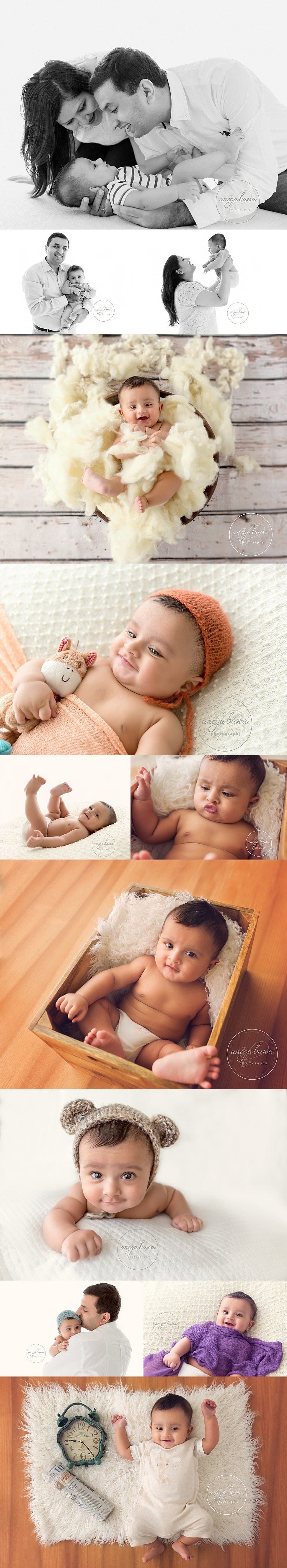 Baby Photoshoot Delhi Gurgaon Noida - Session of 4-month boy