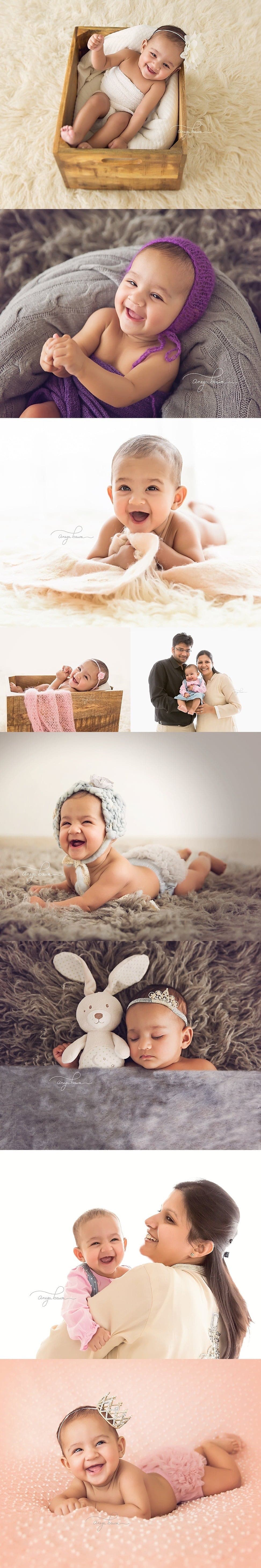 Baby Photographer in India - Session of 4-months old girl