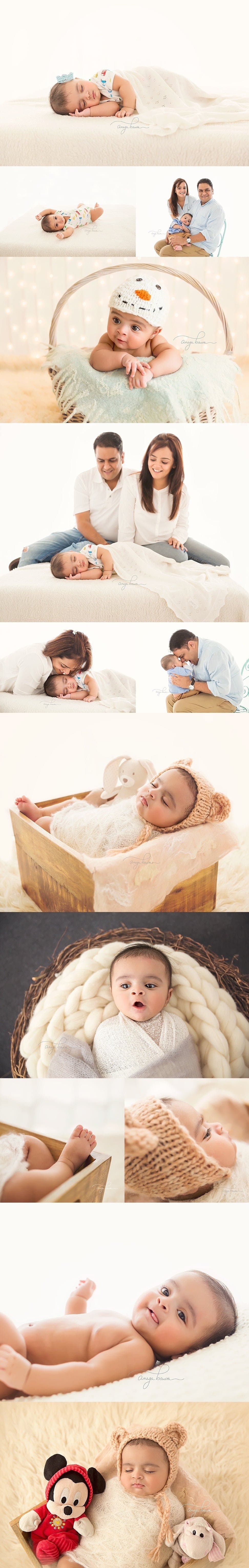 Baby Photoshoot India - Session of a 4-month boy