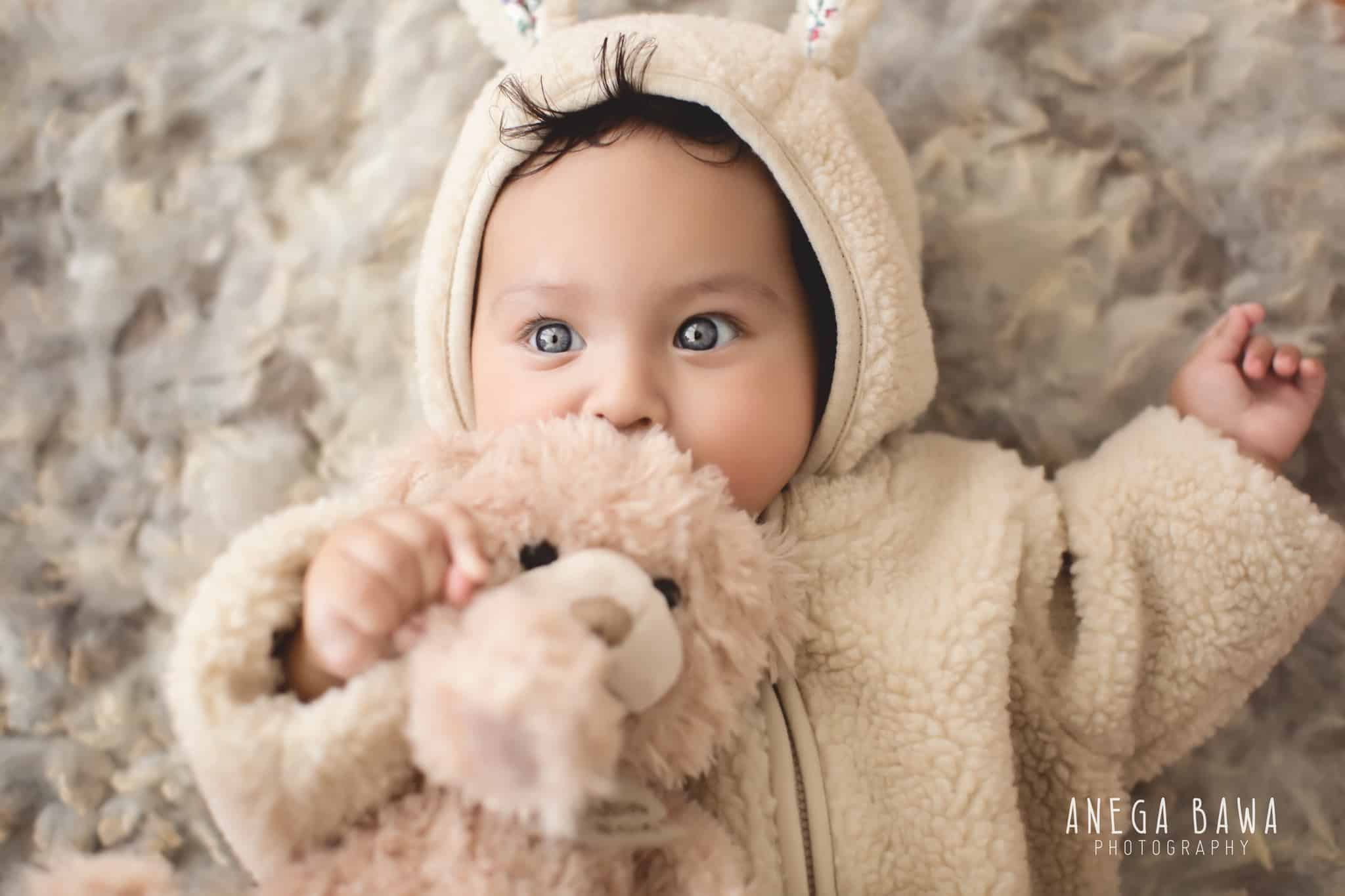 Baby Photography of 4 Months Old Baby Girl by Best Baby