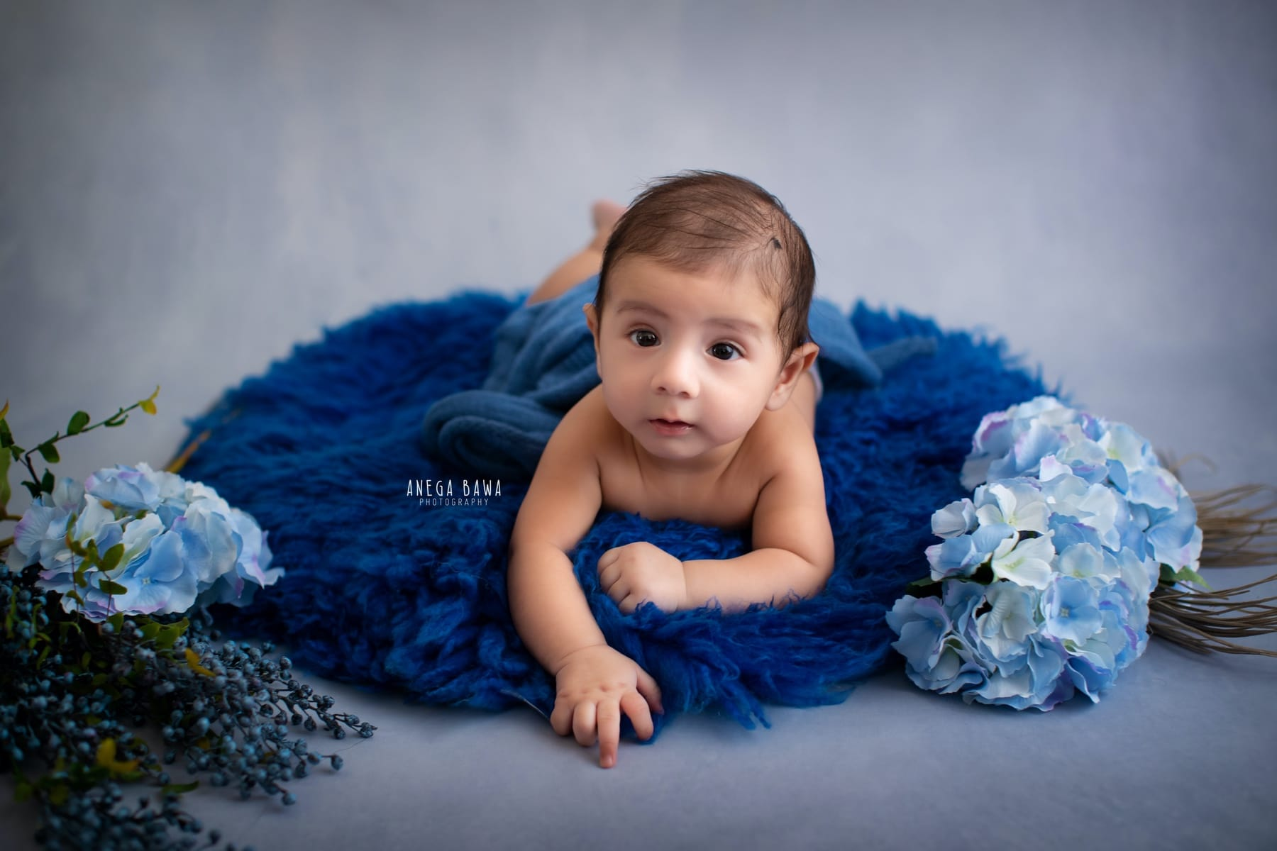 grey floral baby photography delhi 4 months baby boy photoshoot gurgaon anega bawa