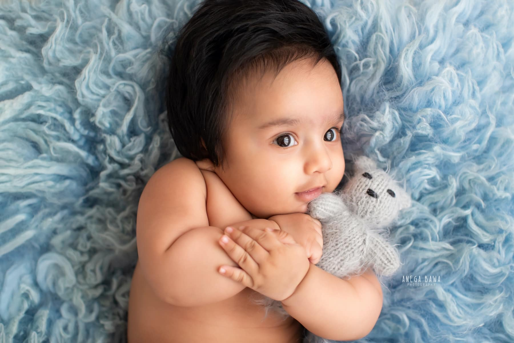blue baby photography delhi 5 months baby boy photoshoot gurgaon anega bawa