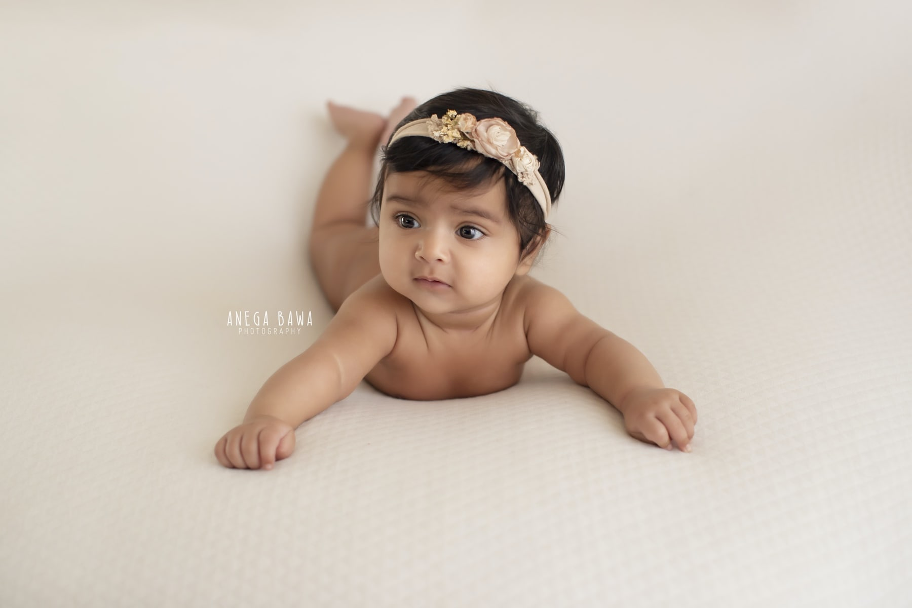 white baby photography delhi 5 months baby girl photoshoot gurgaon anega bawa