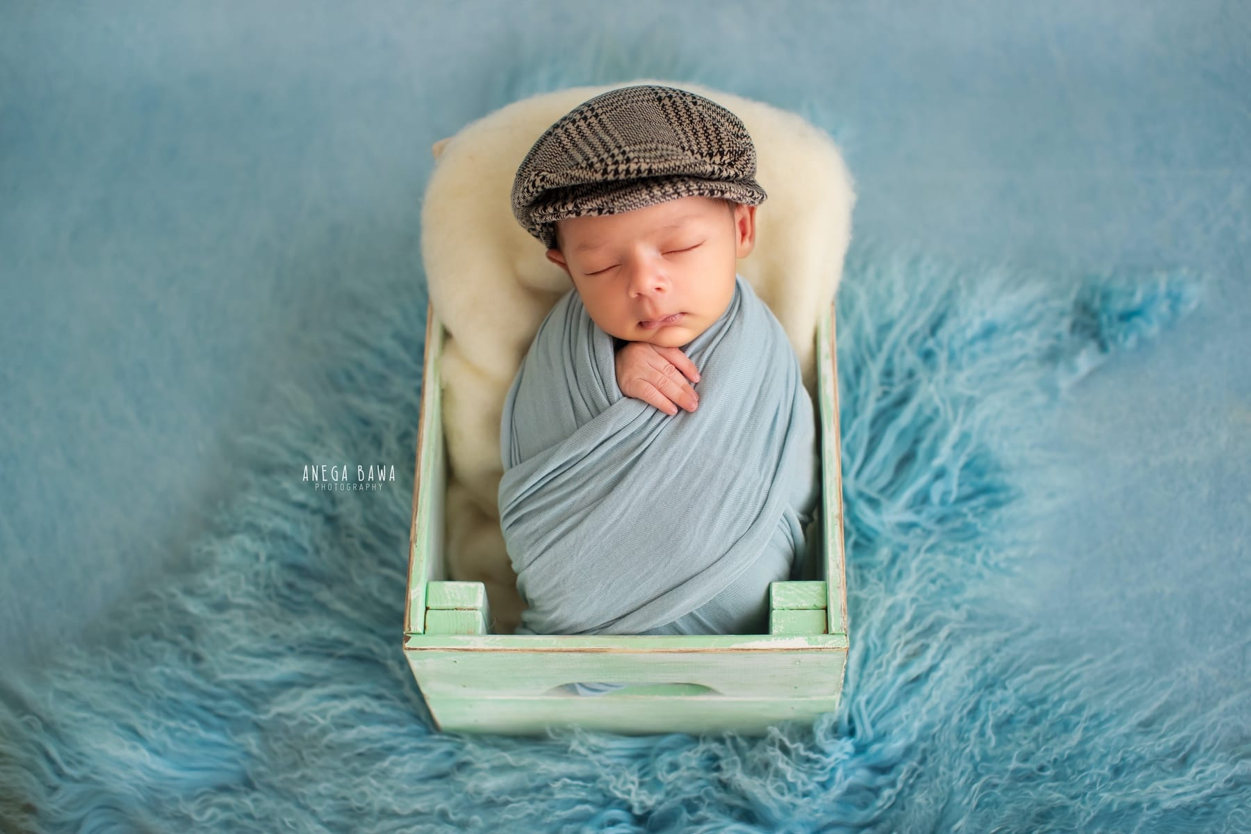 blue newborn photography delhi 19 days baby boy photoshoot gurgaon anega bawa