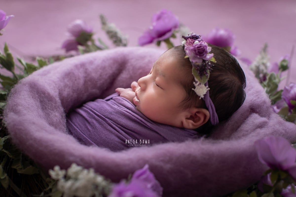 249702-purple-background-lavender-floral-newborn-photography-delhi-14-days-baby-photoshoot-gurgaon-anega-bawa