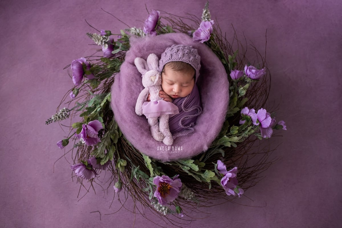 249704-purple-background-lavender-floral-newborn-photography-delhi-14-days-baby-photoshoot-gurgaon-anega-bawa
