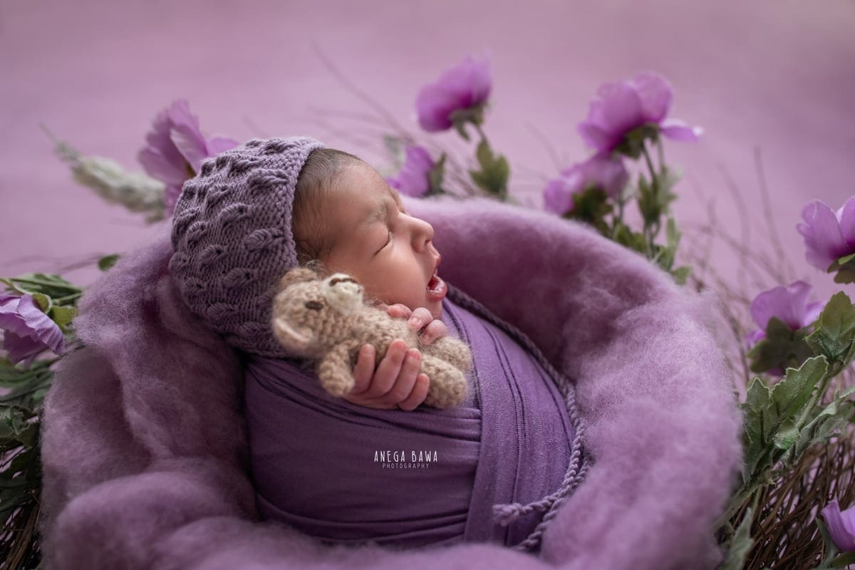 249705-purple-background-lavender-floral-newborn-photography-delhi-14-days-baby-photoshoot-gurgaon-anega-bawa
